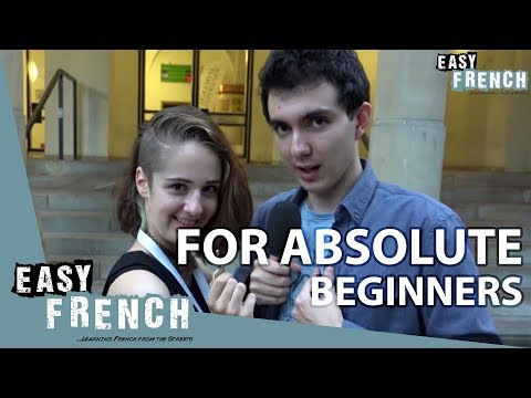 Super Easy French 1 - (for absolute beginners)