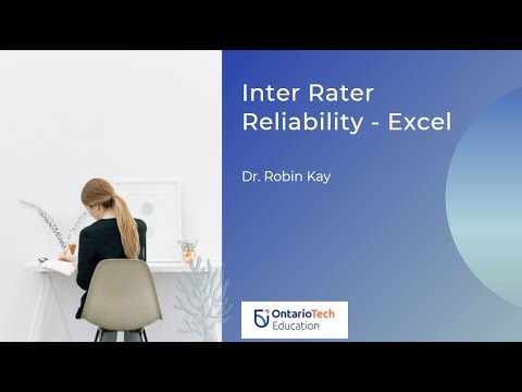 Calculating Inter Rater Reliability/Agreement in Excel