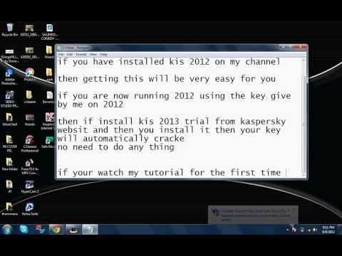 Kaspersky Internet Security 2013 Crack + Link