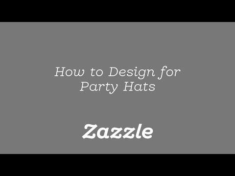 How to Design for Party Hats - Tutorial