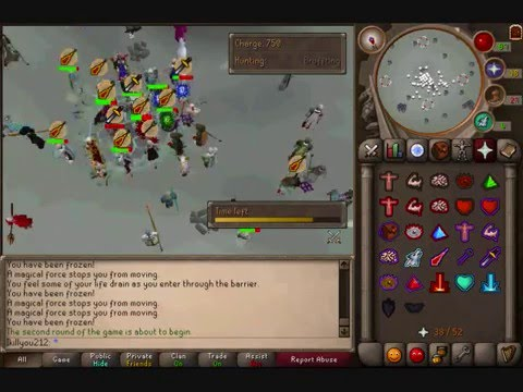 ikillyou212 fist of guthix video in runescape