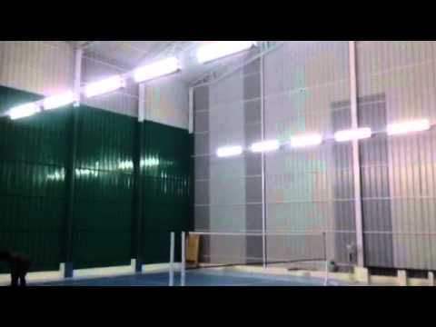 BILBO Badminton lighting indoor