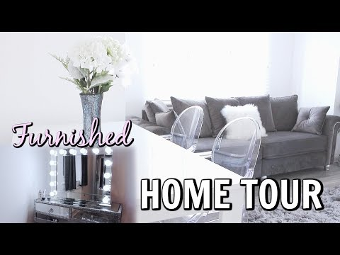 NEW FULLY FURNISHED  + RENOVATED HOME TOUR | MINIMALIST LUXURY APARTMENT