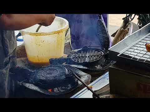 Thai street waffle
