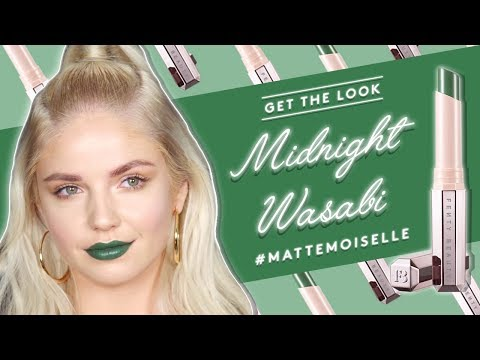 Get the look with MATTEMOISELLE: MIDNIGHT WASABI | FENTY BEAUTY |