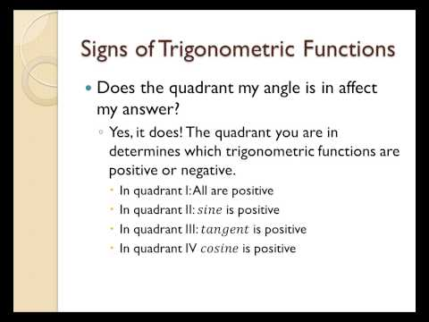 How to find the exact value of trigonometric functions using reference angles