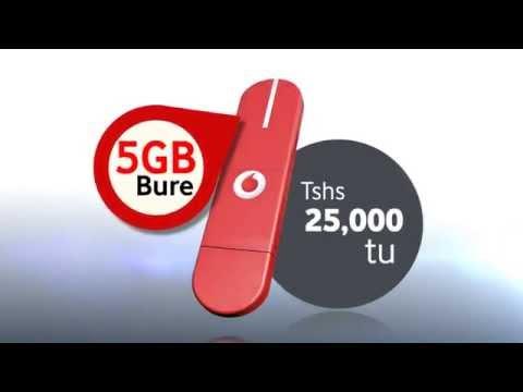 Furahia Intaneti yenye kasi na Vodacom Modem