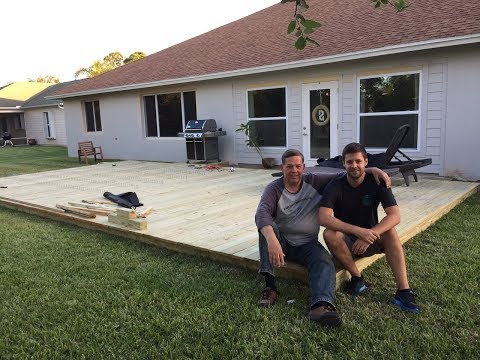 DIY: Build a Ground Level Deck in 2 Minutes