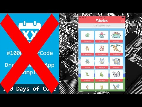 Death to 100 Days of Code Challenge!! - iDev Journey #18