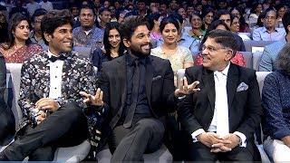 Ali Comedy Punches To Stylish Star Allu Arjun  SIIMA 2016  Telugu Part 2