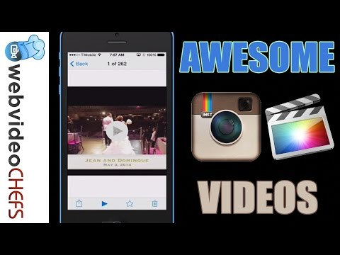 How to create an Instagram video using Final Cut Pro X
