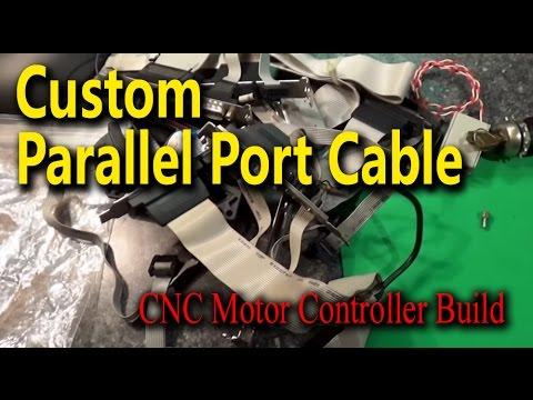 Custom Parallel Port Cable - CNC Motor Controller Build