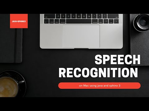 Speech Recognition on Mac OS X using Java and Sphinx 4