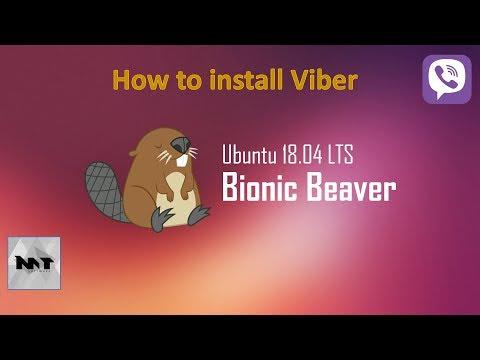How to install Viber on Ubuntu 18.04