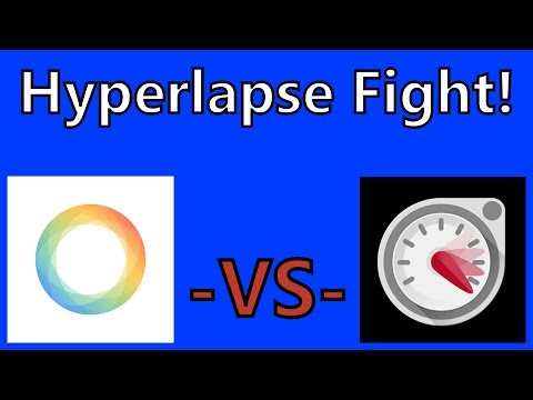 Hyperlapse: Microsoft VS Instragram App Battle! Best Timelapse Video App!