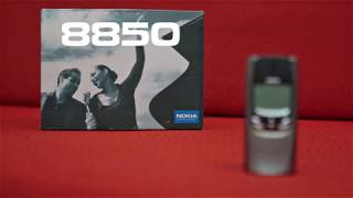 Nokia 8850 unboxing