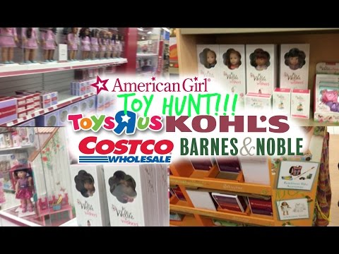 American Girl at Toys R Us?? Costco?? NEW AG PRODUCTS!