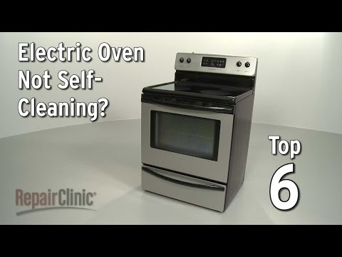 Oven Not Self-Cleaning — Electric Range Troubleshooting