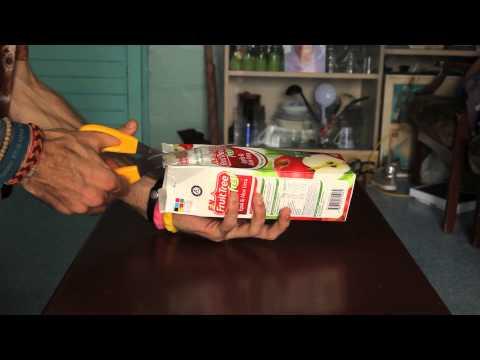 Juice Carton Wallet Tutorial