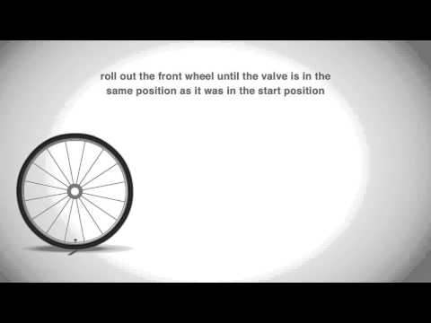 How to measure your wheel size for your cyclometer