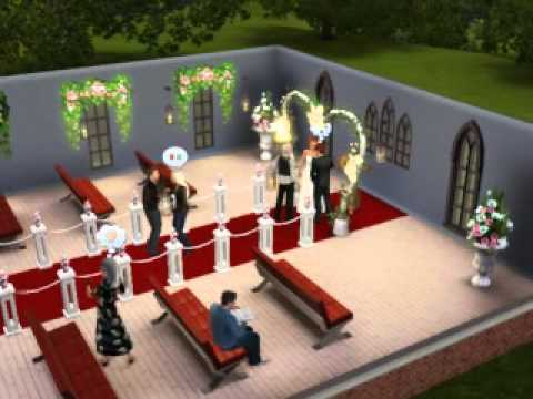 Sims 3 Wedding Chapel