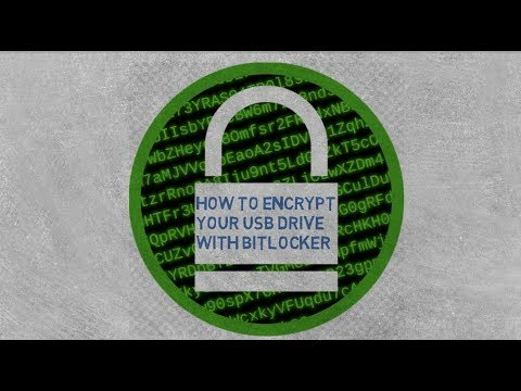 How to Encrypt a Flash Drive with BitLocker || Windows 10 pro