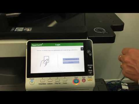 Konica Minolta and PaperCut MF Login Issue