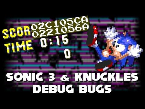 Sonic 3 & Knuckles Debug Bugs