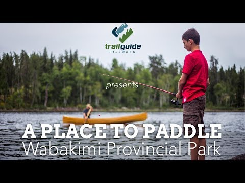 Seven Days In The Wilderness: Wabakimi Provincial Park - Full Film