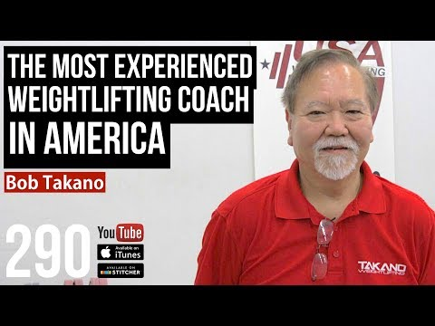 The Most Experienced Weightlifting Coach in America Bob Takano - 290