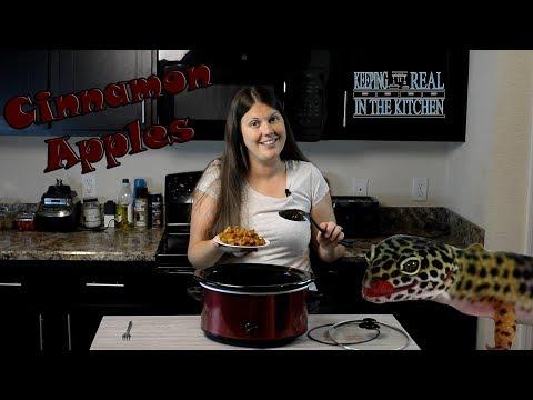 Warm Cinnamon Apples, Slow Cooker/Crock pot Episode 74
