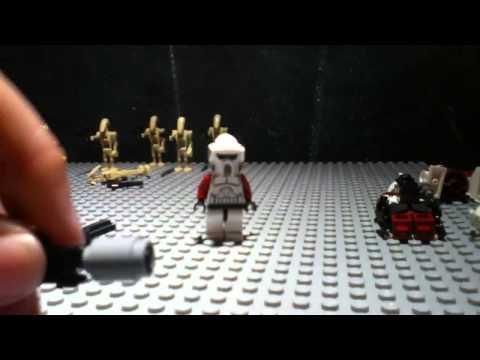 How to make a Lego star wars Gatling gun