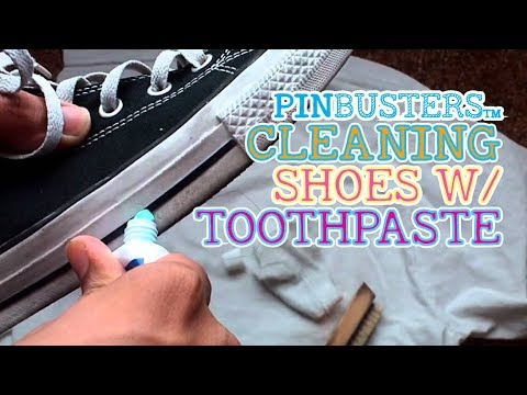 How To Clean Shoes With Toothpaste // DOES THIS REALLY WORK?