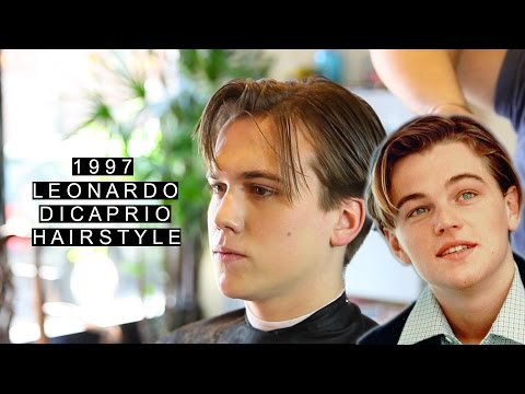 1997 Leonardo DiCaprio Hairstyle | Jack Dawson | Long Length | Retro Haircut