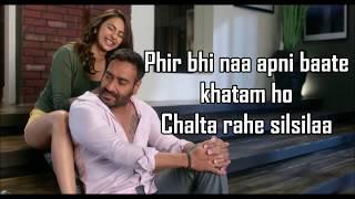 Tu Mila To Haina Lyrics | De De Pyaar De | Ajay Devgn, Rakul | Arijit Singh Amaal Mallik |