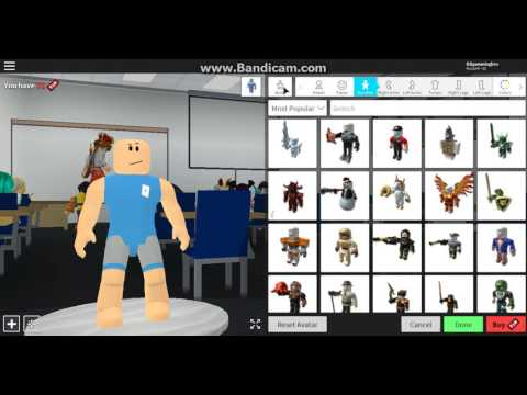 How to be slenderman on robloxian highschool