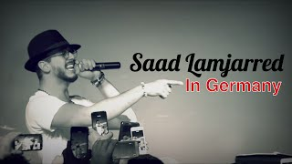 Saad Lamjarred in Germany   سعد المجرد في ألمانيا