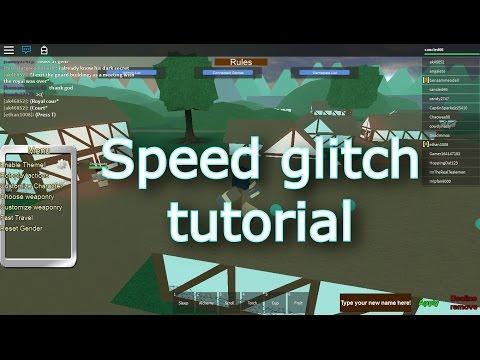 Roblox : permanent speed glitch tutorial - Kingdom Life™ II -