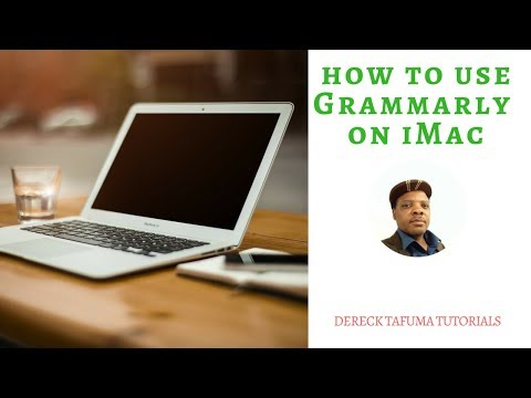 How To Use Grammarly On iMac