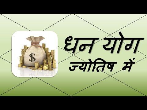 धन योग (Dhan Yoga) | Vedic Astrology | हिंदी (Hindi)