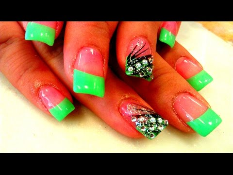 BEGINNERS GUIDE TO ACRYLIC NAILS TUTORIAL VIDEO
