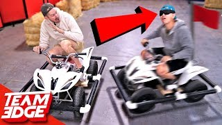 Marco Polo Battle on ATVs!! (We