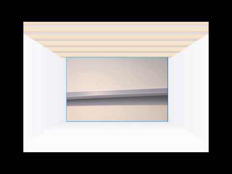 Installing Perimeter Trim for a Suspended Ceiling - Ceiling Tiles UK