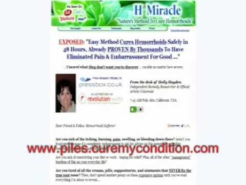 Best Treatment Method For Chronic Hemorrhoid Sufferers - Hemorrhoid H Miracle Review - Is It A Scam?