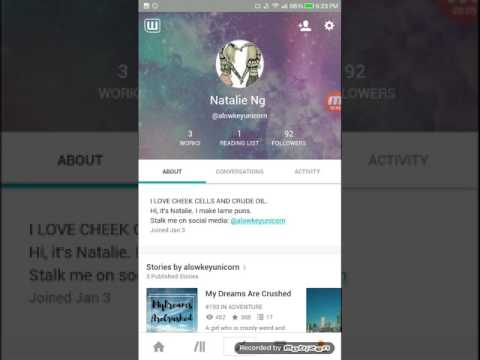 How to be famous on Wattpad! More reads+followers