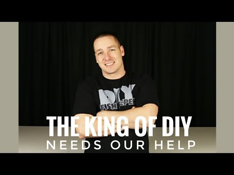 Helping out The King of DIY