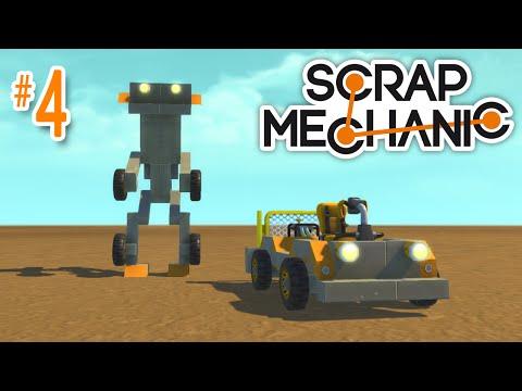 Scrap Mechanic #4 - Car/Robot Transformer!
