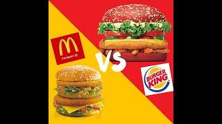 "McDonalds ""is"" Better than Burger King"