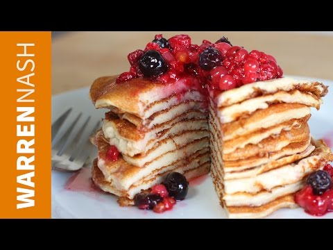 Protein Pancakes Recipe with Protein Powder - In 60 seconds - Recipe by Warren Nash
