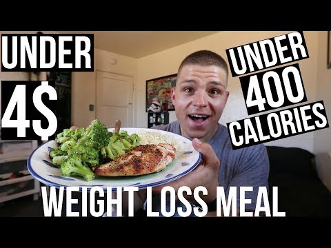 SUPER EASY AND CHEAP WEIGHT LOSS MEAL!